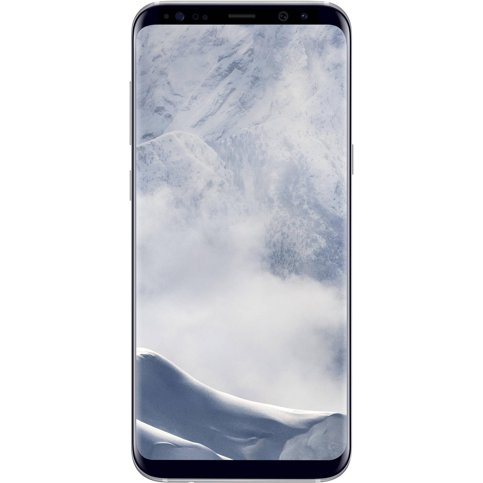 Fotografie Telefon mobil Samsung Galaxy S8 Plus, 64GB, 4G, Arctic Silver