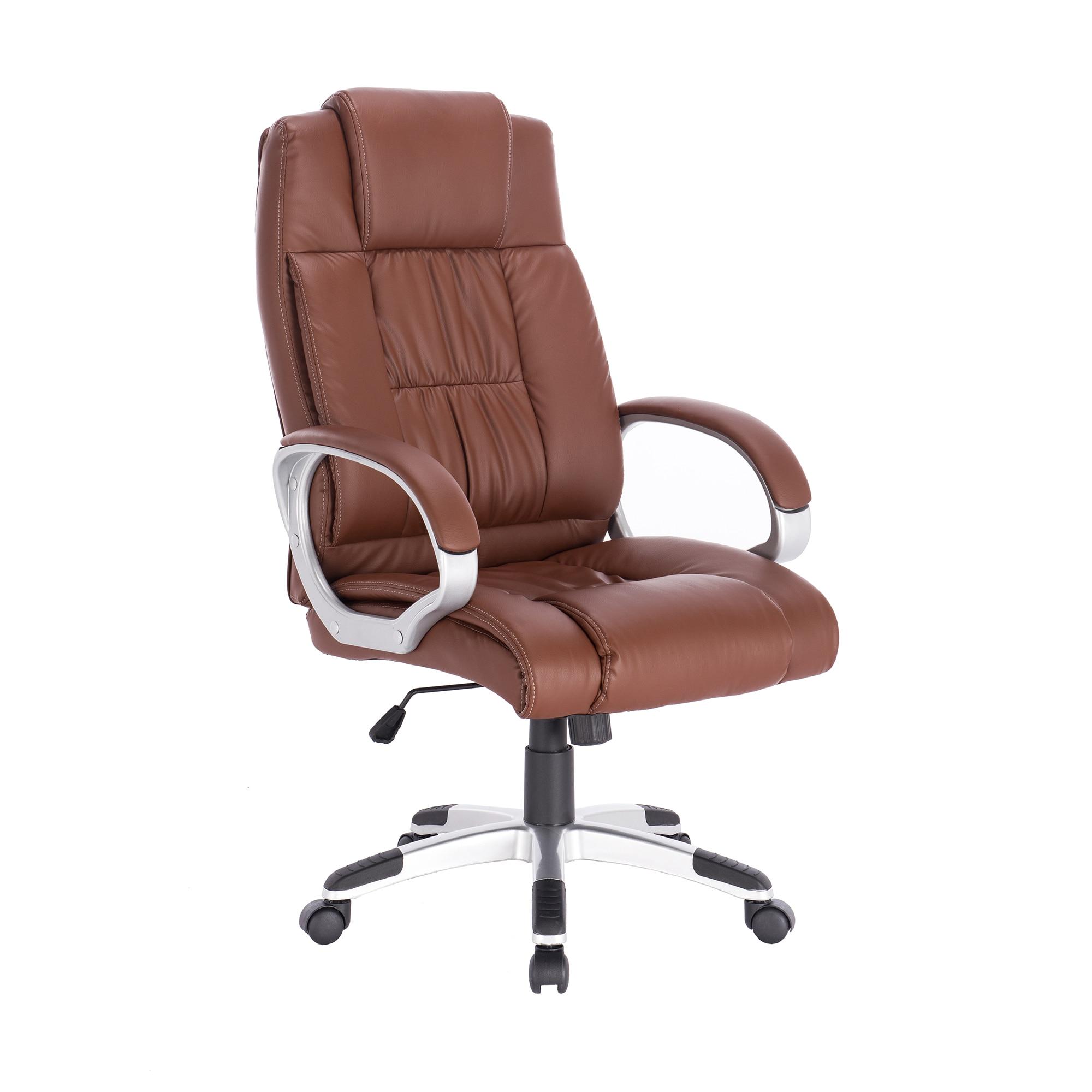 Kring New Bokai Ergonomikus Irodai szék, PU, Kávébarna eMAG.hu