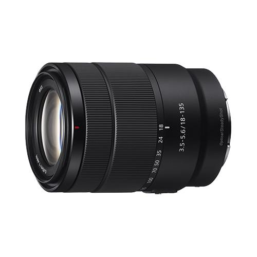 Fotografie Obiectiv Sony, montura E, 18-135mm, f3.5-5.6 OSS, Negru