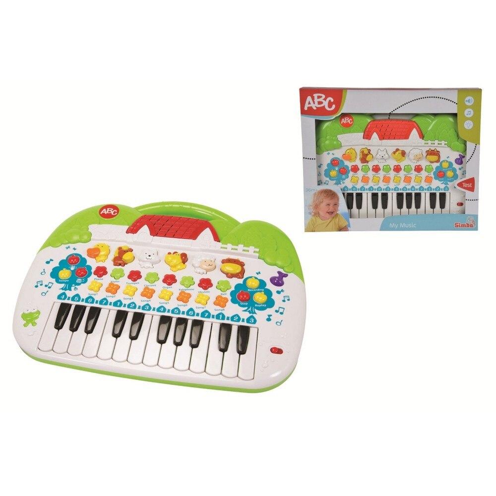 Állathangos zongora játék babáknak TBiHvq
