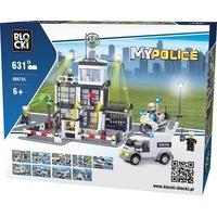 Blocki My Police rendőrállomás építőjáték 6725 631 elem