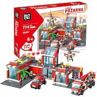 Blocki My Firebrigde tűzoltóállomás 8051 774 elem
