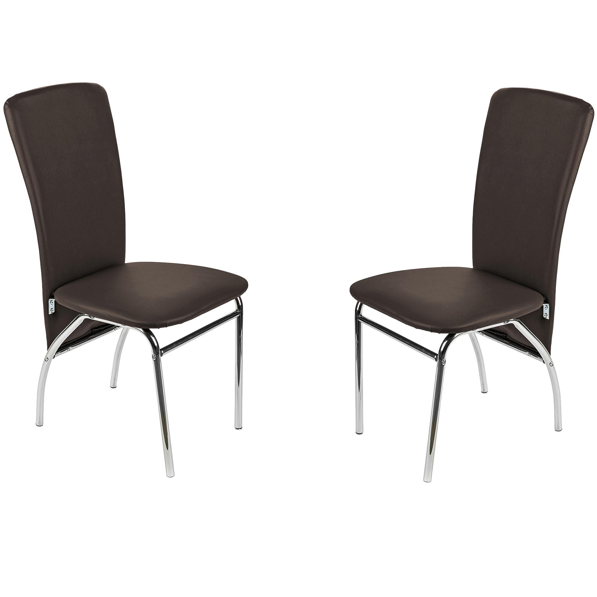 Fotografie Set 2 scaune dining / bucatarie Kring Milano, Maro
