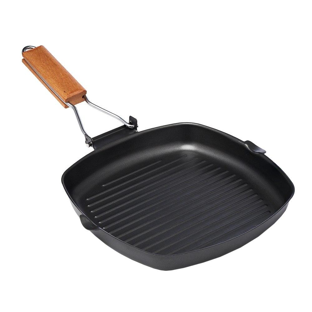Fotografie Tigaie grill cu maner detasabil, Vanora Delis, inductie, 24 x 3.5cm