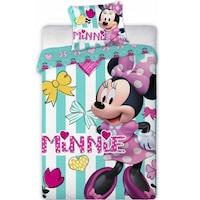 Disney Minnie ovis ágyneműhuzat csíkos 100x135cm 40x60cm