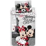 Disney Minnie és Mickey ágyneműhuzat New York 140x200cm 70x90cm