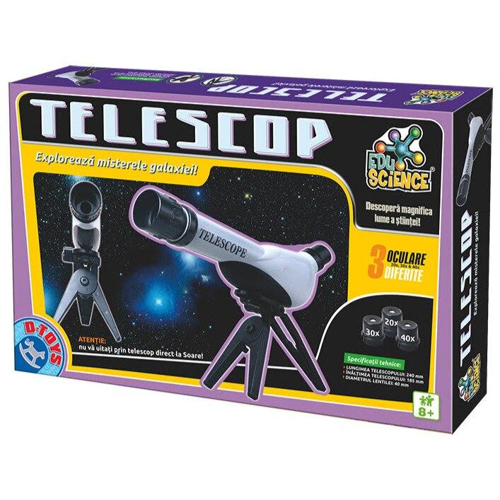 Fotografie Jucarie Edu Science D-Toys, Telescop