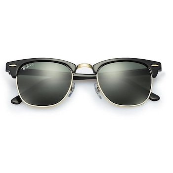 Ochelari de soare Ray Ban RB3016 901/58, negru, pentru barbati, 51 x 21 x 145 mm