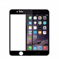 3D Стъклен протектор Full Cover за IPhone 6/6S, Черен