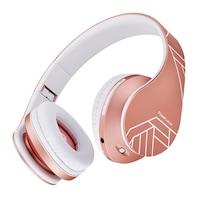 PowerLocus P2 Bluetooth fejhallgató, 85DB Csökkentett hangerőszint, gyerekeknek , Rose Gold
