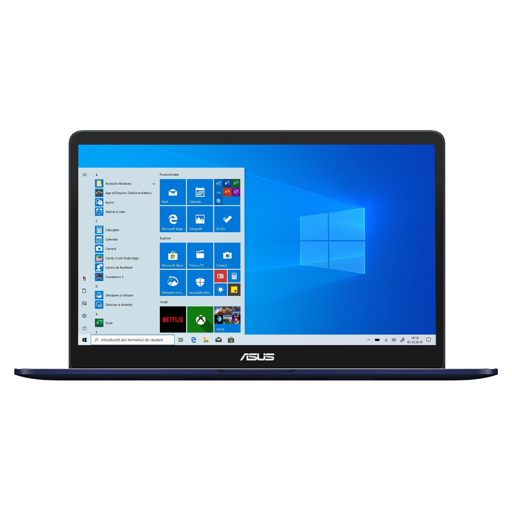 "Fotografie Laptop ASUS ZenBook Pro 15 UX550GE cu procesor Intel® Core™ i7-8750H pana la 4.10 GHz, Coffee Lake, 15.6"", Full HD, 16GB, 512GB SSD, nVIDIA® GeForce® GTX 1050 Ti 4GB, Microsoft Windows 10 Pro, Blue"