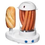 Clatronic HDM 3420 EK N hotdog készítő és tojásfőző, 380W, Fehér