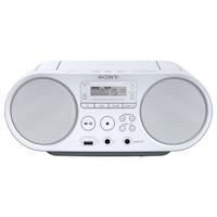 Microsistem audio Sony ZSPS50, CD Player, tuner FM, 2x2W, USB, Alb