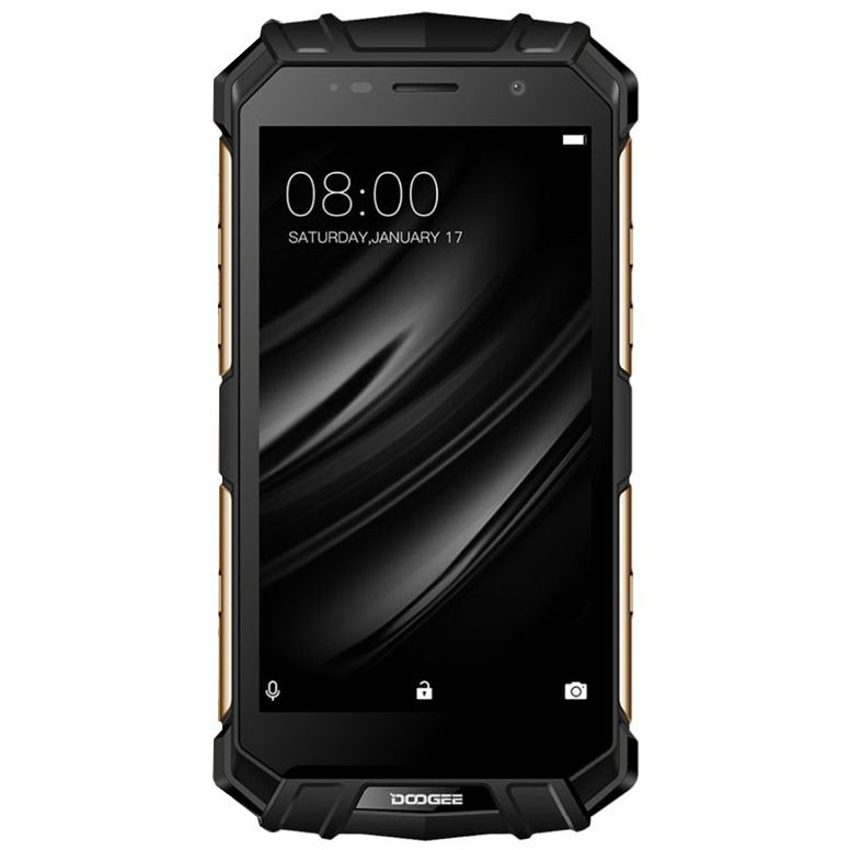 Doogee S60 Mobiltelefon, Ujjlenyomat, Wireless töltés, Dual SIM, Android 7.0, 5.2 inch, 6GB RAM, 64GB ROM, Ezüst