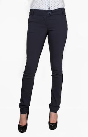 Панталон BONELLI LUX Модел 020757/279, По крака скосен, Тъмно син