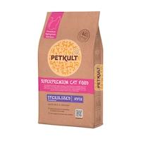 Суха храна за котки Petkult, Sterilised 37/12, 7 кг