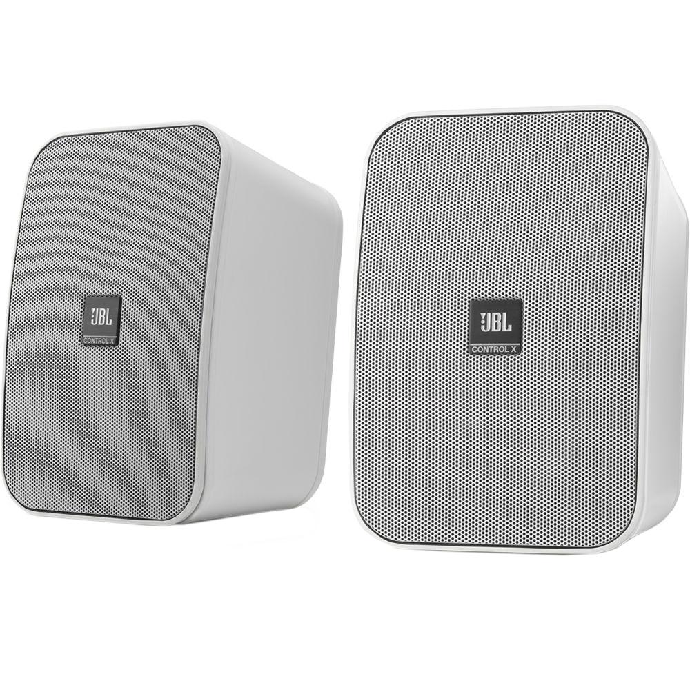 Fotografie Boxe JBL ControlX, pentru interior si exterior, alb