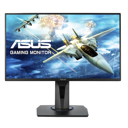 "Монитор gaming LED TN ASUS 24.5"", Full HD, FreeSync, 1 мс, HDMI, Черен, VG255H"