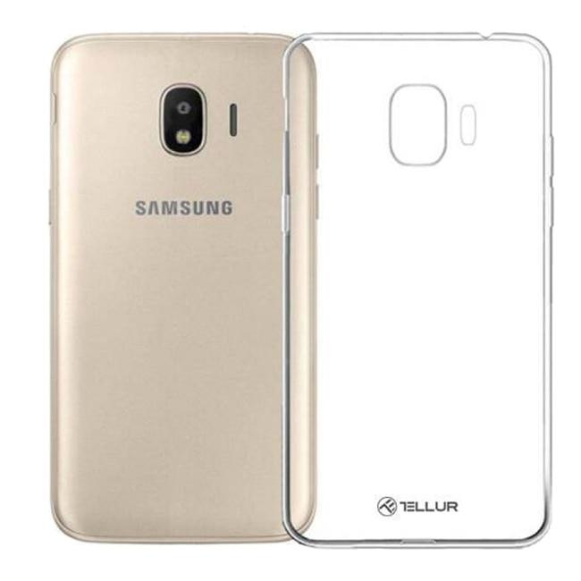 Fotografie Husa de protectie Tellur Tellur Silicon pentru Samsung Galaxy J4 2018, Transparent