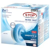 Резервни таблетки за влага Ceresit Aero 360 Neutral, 2 броя, 450 гр