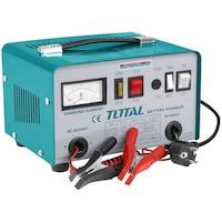 Total Quartz Autó Akkumulátor Töltő, készlet, töltőfeszültség (V): 12/24 + fogócsatlakozók