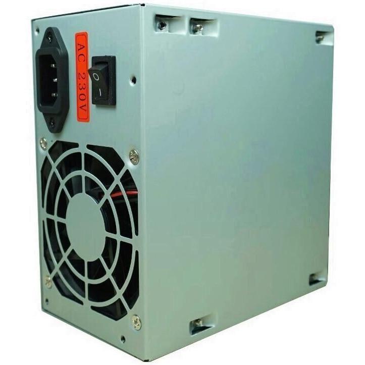 Fotografie Sursa Inter-Tech SL-500C 500W PSU, single rail (30A), ventilator 80mm, Passive PFC, Bulk