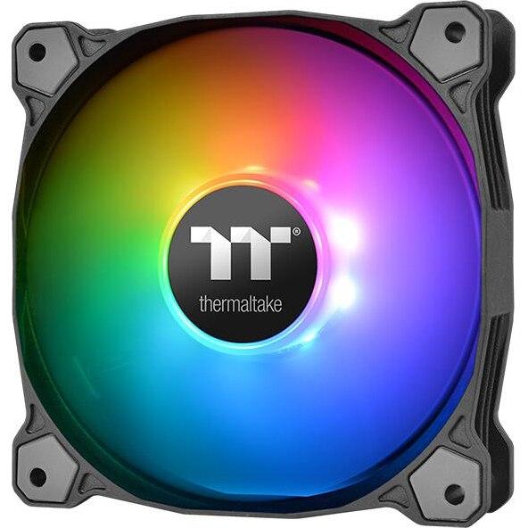 Fotografie Ventilator Thermaltake Pure Plus RGB 12 Radiator Fan, 3 Pack