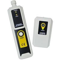 Ултразвуков детектор за течове с предавател eTop – открива въздух, вода и прах с LED индикатор и слушалка