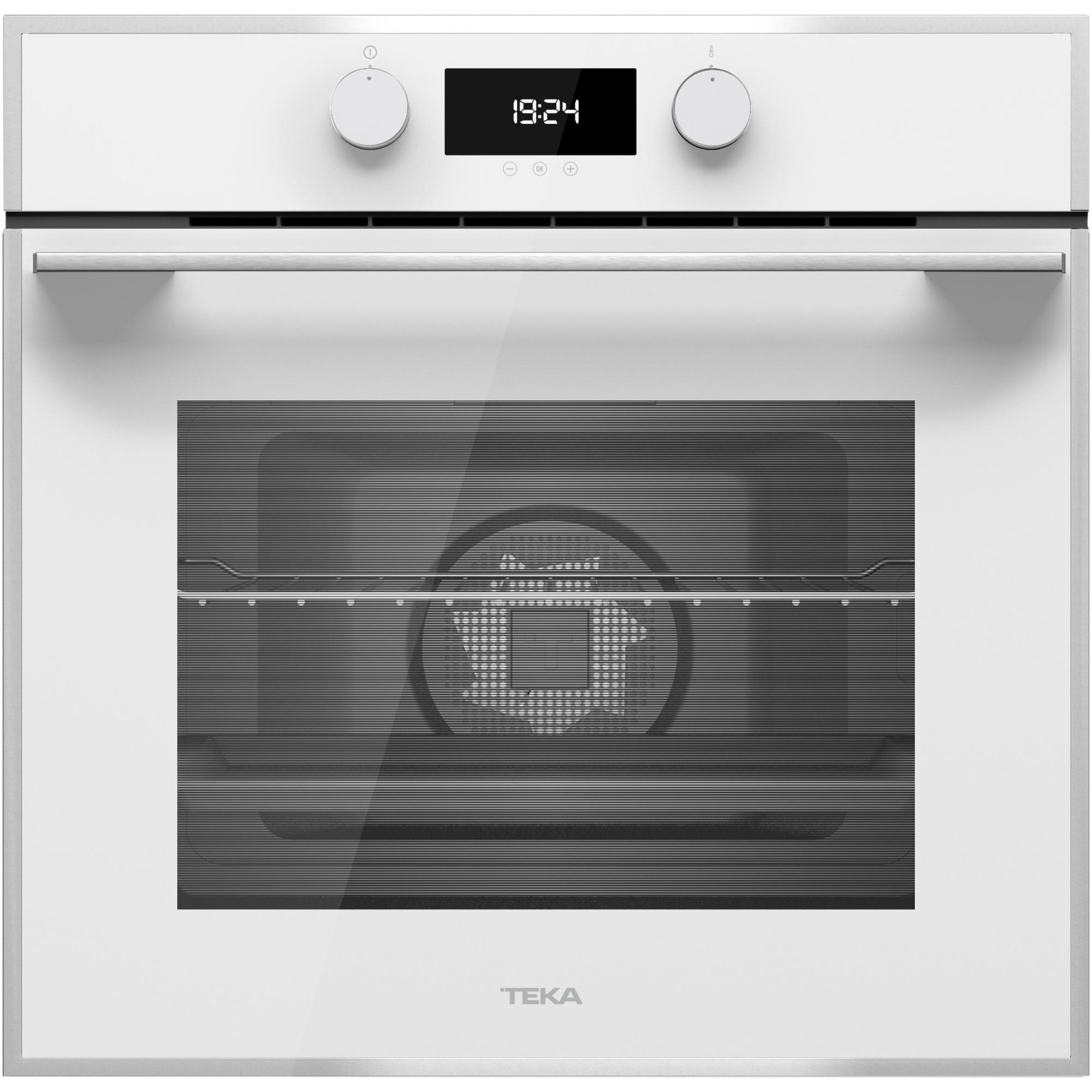 Fotografie Cuptor incorporabil Teka HLB 840 WHITE, Electric, HydroClean PRO, 70 l, Clasa A+, Cristal Alb