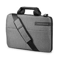 """HP NB Signature II 15.6"""", vékony felültöltős, szürke notebook táska"""