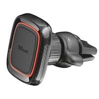 Стойка за автомобил Trust Veta Magnetic, Захващане към вентилационната решетка, Black