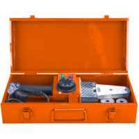 Поялник за PP тръби PP-R Evotools, 800W, Отвертка, Шестограм, Метален куфар