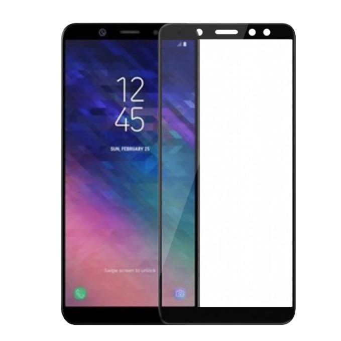 Fotografie Folie de protectie Tellur Tempered Glass, Full cover pentru Samsung Galaxy A6 Plus (2018), Negru
