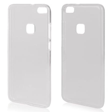 Husa de protectie Mercury Transparent Jelly pentru Huawei P10 Lite, TPU, Transparent