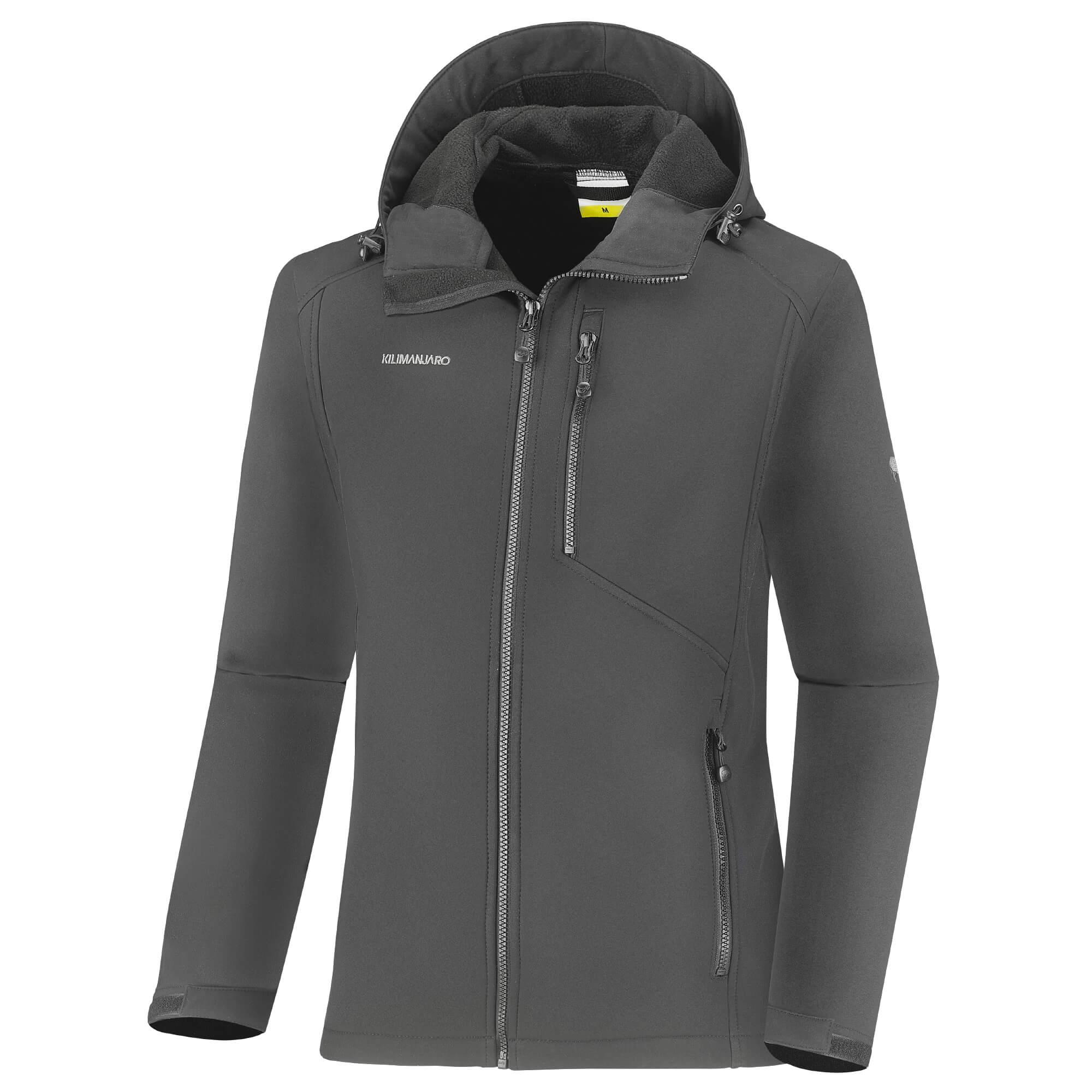 Kilimanjaro Idahoe Férfi softshell dzseki, Zöld, XL eMAG.hu