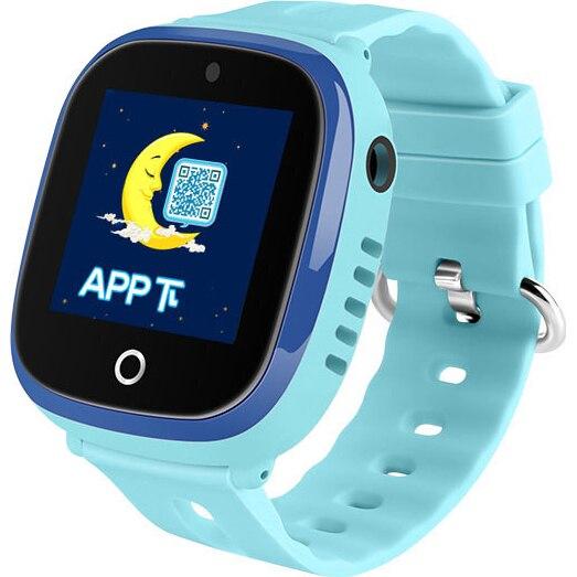 Fotografie Ceas smartwatch copii Wonlex GW400X, GPS, Functie telefon, SIM prepay cadou, Albastru