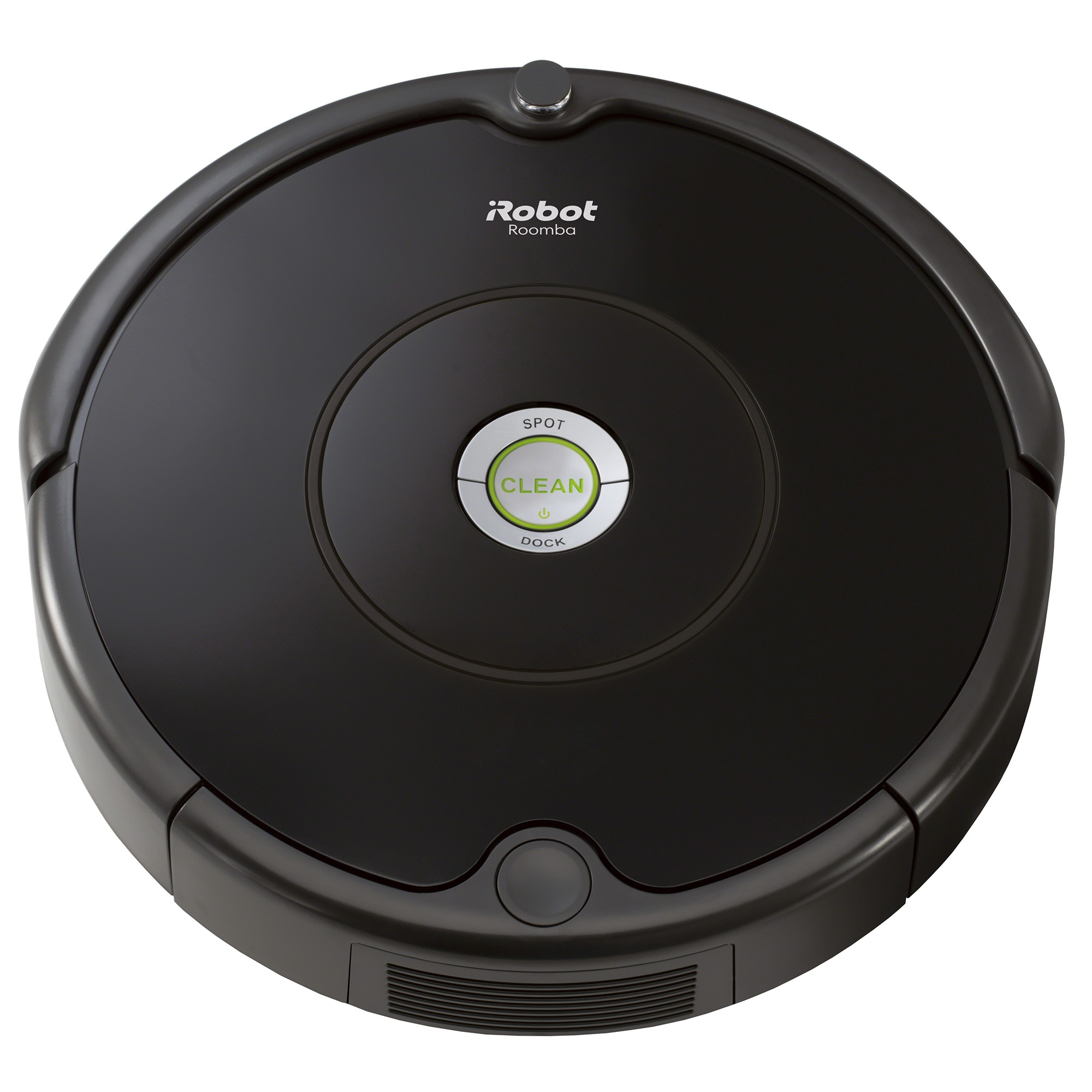Fotografie Robot aspirator iRobot Roomba 606, AeroVac Wall Follow, Program Spot, Senzor detectare scari, Baterie Ni-MH, Negru
