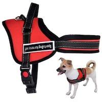 Нагръдник за куче Sports Dog, Червен