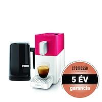 Cremesso Easy kapszulás kávéfőző tejhabosítóval 19bar Piros/Fehér