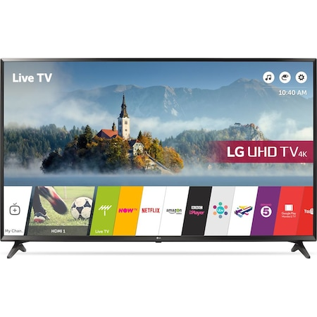 Телевизор LG, 43UJ630V , 4K Ultra HD LED TV, 43inch, LAN | Wi-Fi