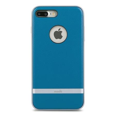 Husa de protectie Moshi Napa pentru iPhone 8 Plus/7 Plus, Albastru