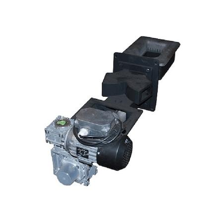 Automata adagolós kazán égőfej, szén-pellet-ocsú-mag tüzelésére, csigás adagolás, max .35kW
