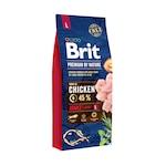 Суха храна за кучета Brit Premium (нова подобрена формула), Adult L, 15 кг