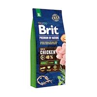 Hrana uscata pentru caini Brit Premium, Adult XL, 15 Kg