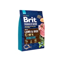 Суха храна за кучета Brit Premium, Sensitive, Агнешко, 3 кг