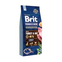 Суха храна за кучета Brit Premium (нова подобрена формула), Light, 15 кг