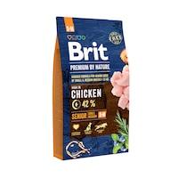 Суха храна за кучета Brit Premium (нова подобрена формула), Senior S & M, 8 кг