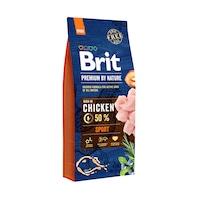 Суха храна за кучета Brit Premium (нова подобрена формула), Sport, 15 кг
