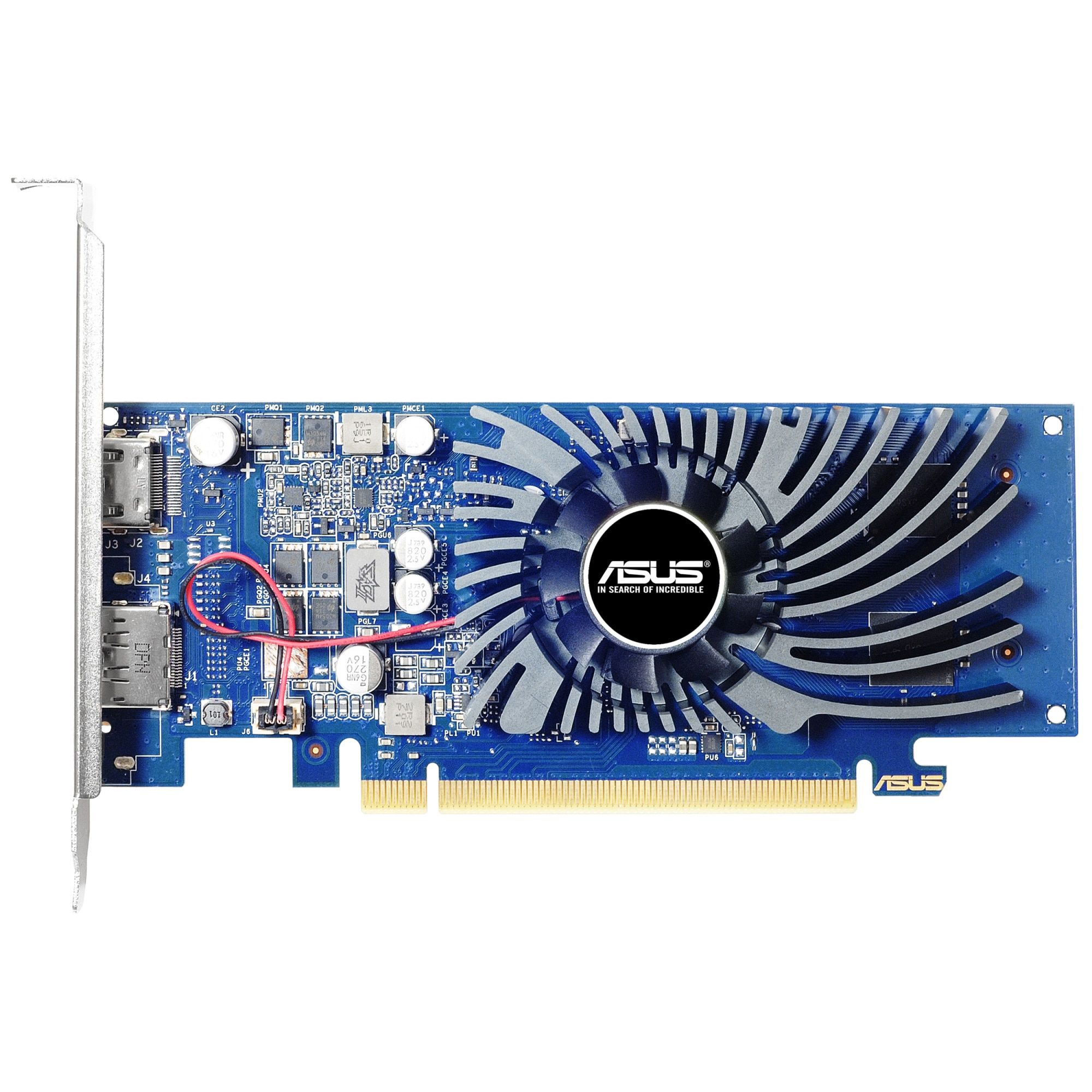 Fotografie Placa video ASUS GeForce GT1030 BRK, 2GB GDDR5, 64-bit