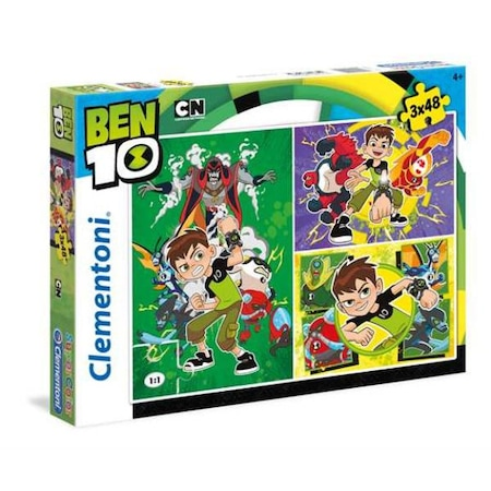 Set 3 puzzle Clementoni, Ben 10, 3x48 piese